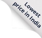 lowest price in india