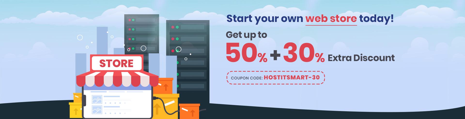 E-Commerce Web-Hosting offer